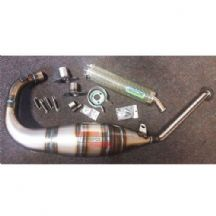 Aprilia Tuono 125 2004 Arrow Street Exhaust System - Kevlar End Can